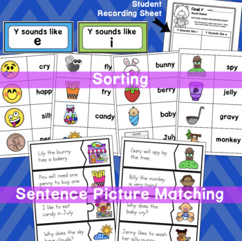 Final Y Worksheets, Poster, and Activity