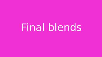 Final blends