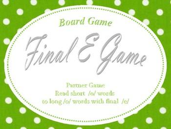 Final e (o_e) Game