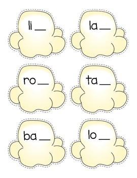 Final /k/ - ck or k Spelling Popcorn Sort