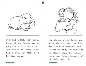 Final -y (long e) Story - Milly and Her Bunny
