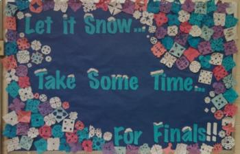 Finals Bulletin Board
