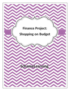 Finance Activity: Shopping on a Budget