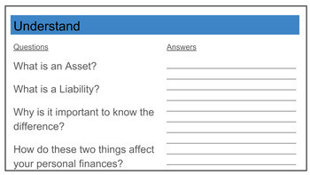 Finance: Asset vs Liability