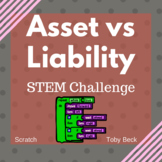 STEM Project Based Learning: Finance- Asset vs Liability (coding)