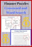 Finance Crossword Puzzle and Word Search with Answers - ES
