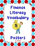 Finance Literacy Poster Cards