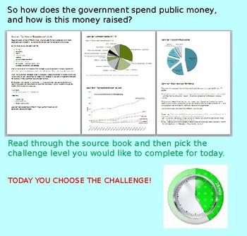 Finance: Public Money: Citizenship