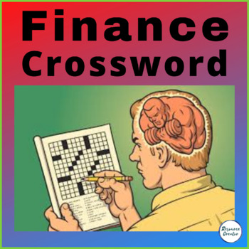 Finance Vocabulary Crossword with Answers - ESL