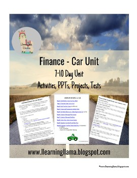 Personal Finance and Business Class Car Unit (Purchase, Loan, and Insurance)