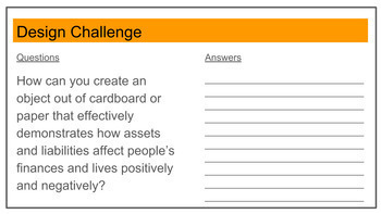 Finances - Design Thinking - E.L.A