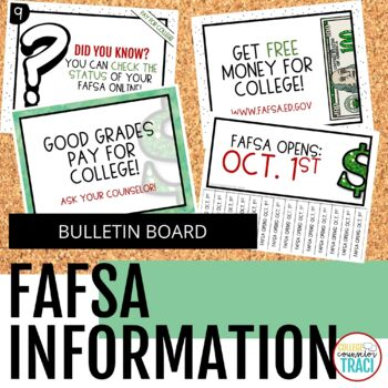 Financial Aid (FAFSA) Bulletin Board