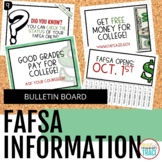 FAFSA Bulletin Board | Pay for College Editable