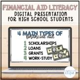 Financial Aid Literacy Digital Presentation for High Schoo