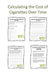 Financial Cost of Smoking Lesson Plan