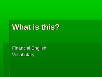 Financial English Vocabulary