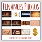 Financial Goals Photos / Photograph Clip Art Set
