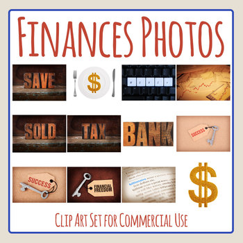 Financial Goals Photos / Photograph Clip Art Set