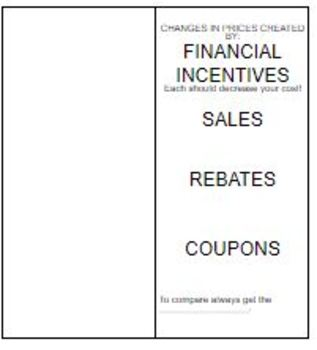Financial Incentives - Coupons Rebates and Discounts 7.13F