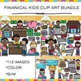 Kids Financial Clip Art Bundle