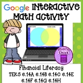 Financial Literacy 6th grade TEKS 6.14A 6.14B 6.14C 6.14E F G H Google Activity
