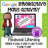 Financial Literacy 7th grade TEKS 7.13A 7.13B 7.13C 7.13D 7.13E 7.13F Google