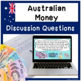 Financial Literacy - AUSTRALIAN MONEY Math Journal Prompts
