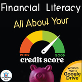 Financial Literacy All About Your Credit Score Distance Learning