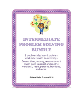 Financial Literacy Budgeting Bundle: 3 projects, word probs, and a fun game