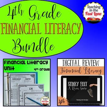 Financial Literacy Bundle 4th Grade