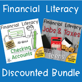 Financial Literacy Bundle Checking Accounts & Jobs and Tax