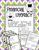 Financial Literacy Bundle -- Expenses and Profit -- TEKS 4.10
