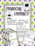Financial Literacy Bundle -- Expenses and Profit -- TEKS 4.10