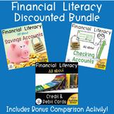 Financial Literacy Bundle Savings, Checking, Credit and De