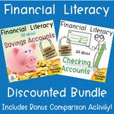 Financial Literacy Bundle Savings and Checking Accounts wi
