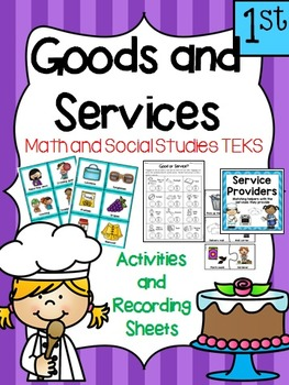 Financial Literacy:  Goods and Services, Making Choices 1st Grade