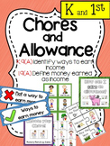 Financial Literacy:  Chores and Allowance