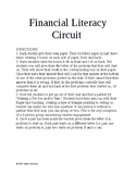 Financial Literacy Circuit / Scavenger Hunt