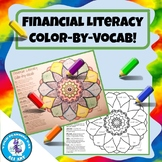 Financial Literacy Color-by-Vocab