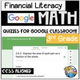Financial Literacy - Digital - 3rd Grade - Distance Learning - Google Classroom