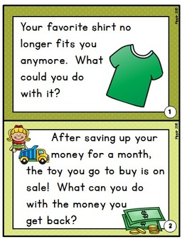 Financial Literacy FREE Discussion Questions 1st
