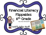 Financial Literacy Flippables 6th Grade