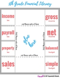 Financial Literacy Foldable