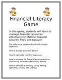 Economics and Personal Financial Literacy Game