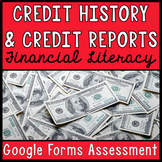 Financial Literacy Google Forms Assessment: Credit History