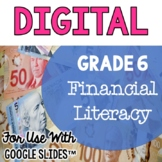 Financial Literacy Grade 6 Ontario Curriculum for use with