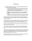 Financial Literacy--Job Interview Tips