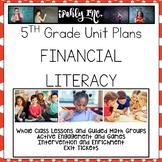 Financial Literacy Lesson Plans 5.10A, 5.10B, 5.10C, 5.10D