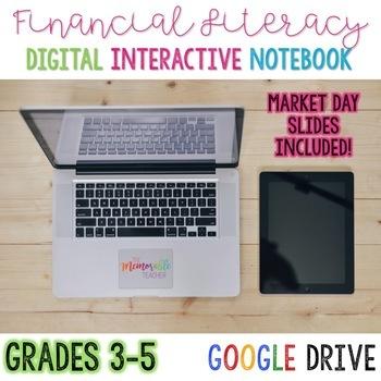 Financial Literacy/Market Day Digital Interactive Notebook