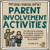 Financial Literacy Parent Discussion Activities - TAKE HOME